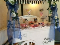 candy cart full set up