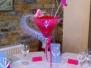 Martini Vase Centrepieces