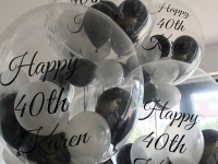 personalised deco bubbles