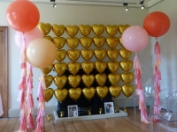 3ft floor standing with tassels